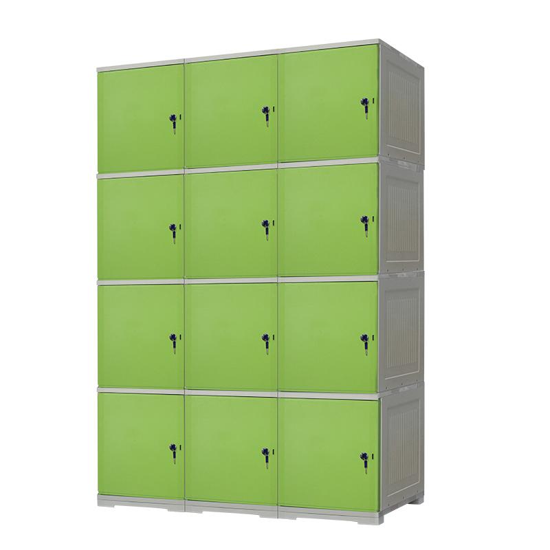 绿色ABS更衣柜
