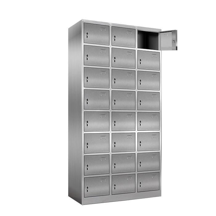 24门不锈钢更衣柜