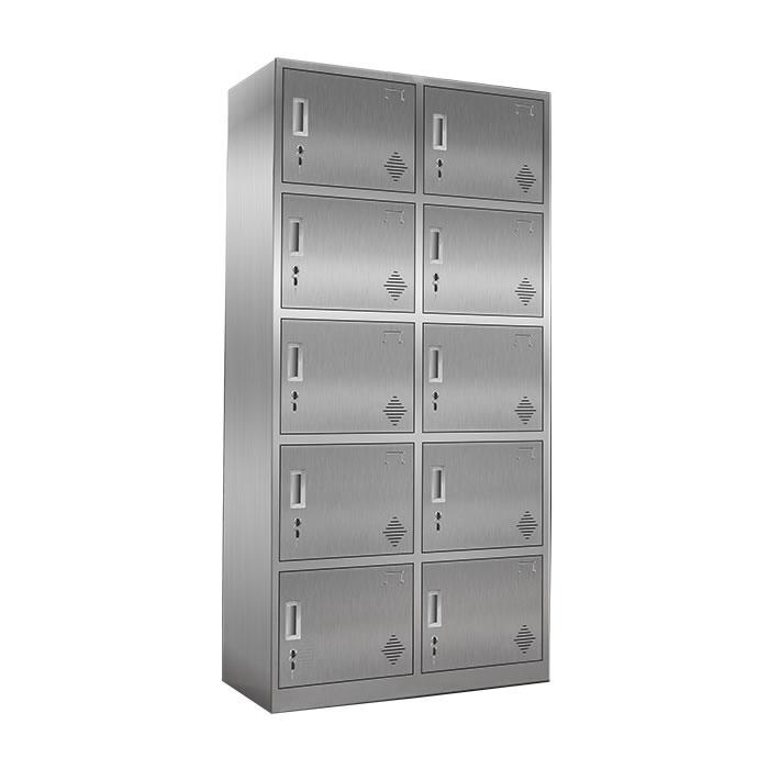 10门不锈钢更衣柜