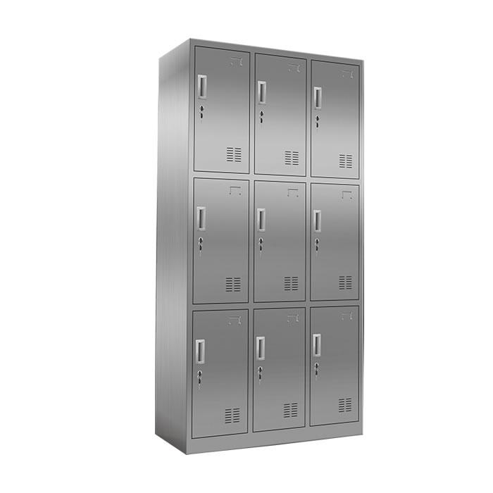9门不锈钢更衣柜